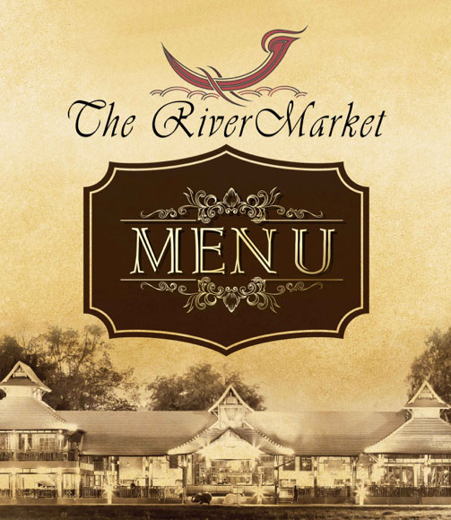 The River Market Chiang Mai Food Menu