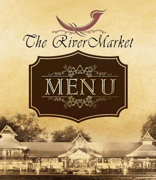The River Market Chiang Mai Food Menu